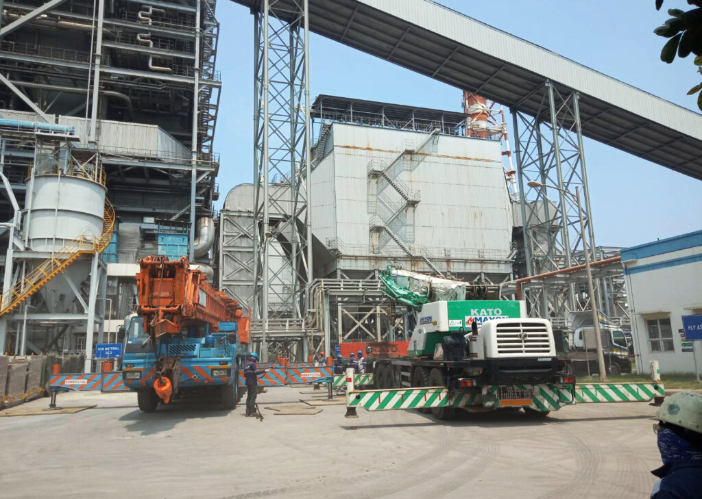 Coal-Fired Power Plant In Calaca, Batangas
